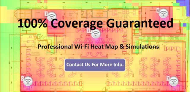 WiFi Heat Map | Dubai UAE | APPLICOM